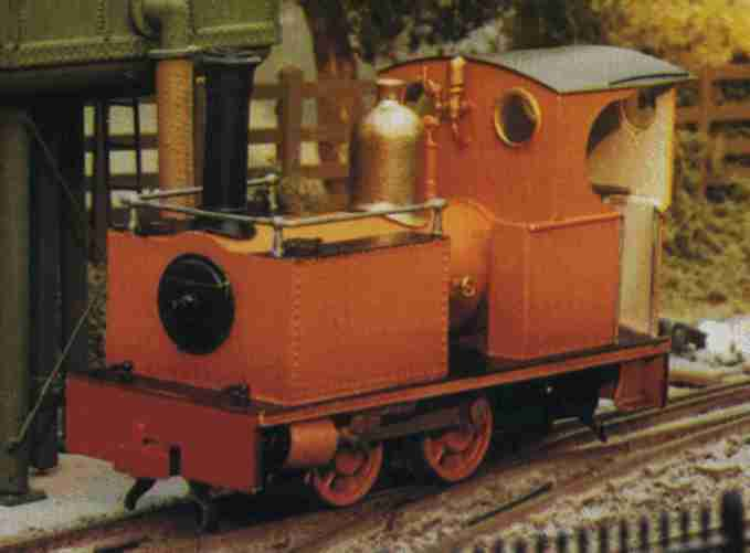 Bagnall 0-4-0IST. Photo courtesy of 009 News.