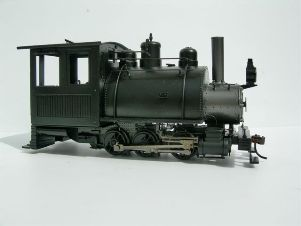 RTR 0-6-0ST with straight stack