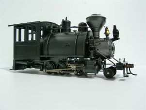RTR 2-6-0ST with woodburning stack