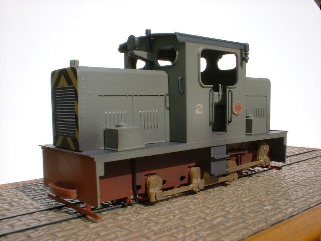 009 H0e gauge narrow gauge locomotive jack 4mm scale